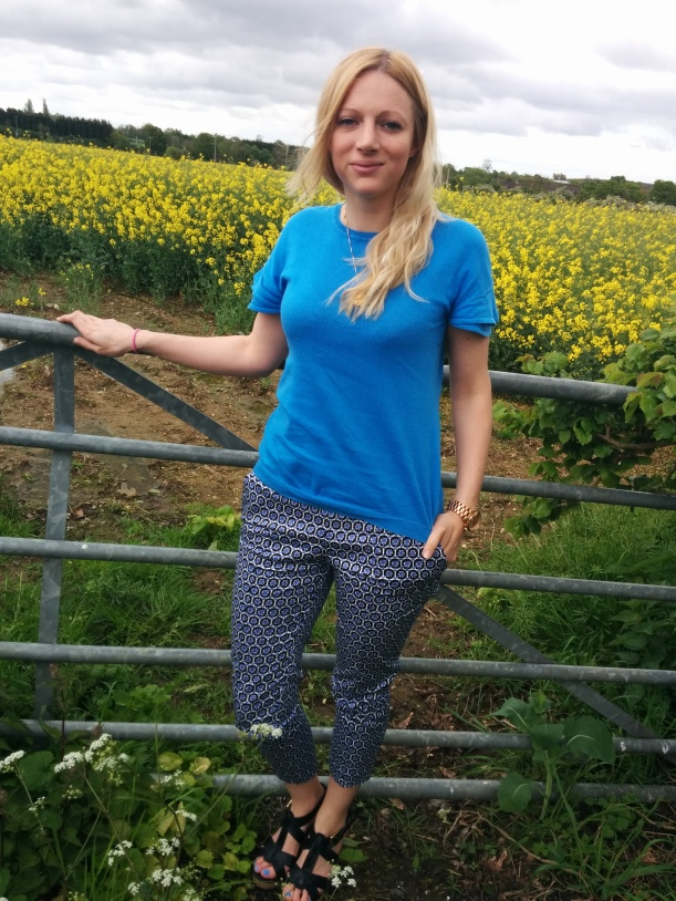 Patterned trousers 1