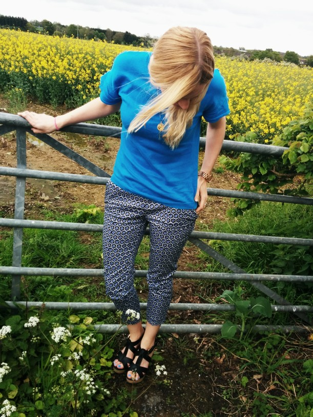 Patterned trousers 4