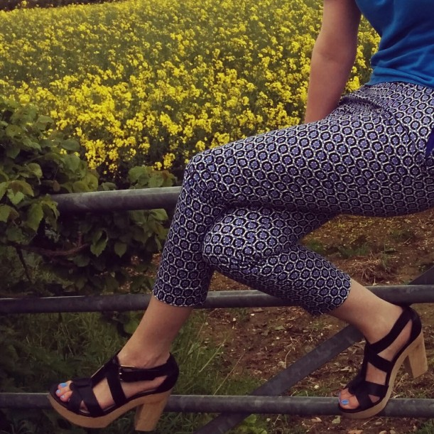 Patterned trousers 5